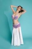 Bellydance. Elegance bellydance woomen - exoticism costume Stock Photos