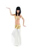 Bellydance woman in Royalty Free Stock Photography