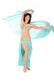 Bellydance woman hands up Royalty Free Stock Image