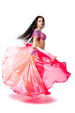 Bellydancer girl portrait Stock Photos