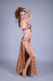 Bellydancer girl portrait Royalty Free Stock Images