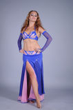 Bellydancer girl portrait Stock Photography