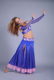 Bellydancer girl portrait Royalty Free Stock Photography