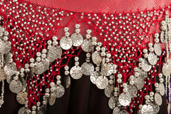 Bellydancing Costume Stock Photo