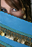 Bellydancing Teen Royalty Free Stock Images