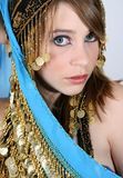 Bellydancing Teen Stock Photo