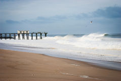 Belmar Fishing Pier Royalty Free Stock Image