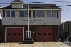 Belmar NJ Firehouse. Belmar NJ, USA -- July 28, 2016 Belmar NJ Firehouse (The Goodwill Hose Co). Editorial Use Only Royalty Free Stock Image