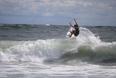 Belmar Surfer Stock Images