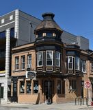 Belmont Ave. Italianate Royalty Free Stock Images