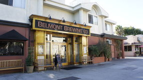 Belmont Brewing Co. Royalty Free Stock Image