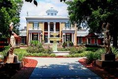 Belmont herrgård Nashville Tennessee Arkivbilder