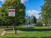Belmont Park, Montreal Stock Photo
