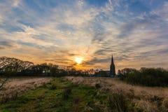 Belmont soluppgång Fotografering för Bildbyråer