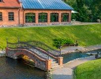 Belmontas park in Vilnius Stock Image
