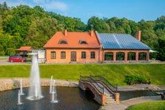 Belmontas park in Vilnius Stock Photo