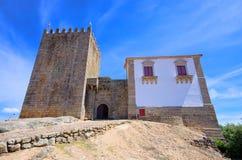 Belmonte castle. Old Belmonte castle in Portugal Stock Photos