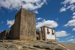 Belmonte castle. Historic village of Portugal, near Covilha Stock Photography