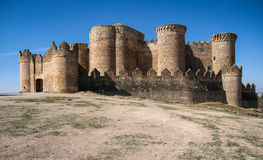 Belmonte castle, Castilla la Mancha, Spain Royalty Free Stock Photography