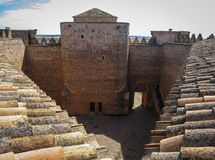 Belmonte castle, Castilla la Mancha, Spain Royalty Free Stock Image