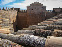 Belmonte castle, Castilla la Mancha, Spain Royalty Free Stock Images