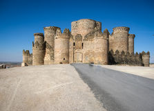 Belmonte castle, Castilla la Mancha, Spain Stock Image