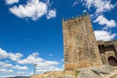 Belmonte castle. Historic village of Portugal, near Covilha Stock Photos