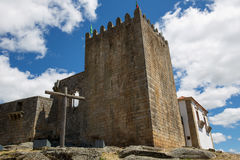 Belmonte castle Royalty Free Stock Photo