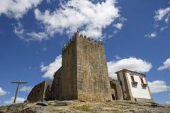 Belmonte castle Stock Photo