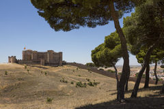 Belmonte Castle - La Mancha - Spain Royalty Free Stock Images