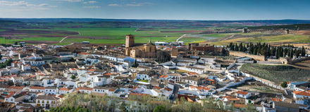 Belmonte Castle, La Mancha, Spain Stock Photo