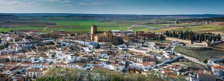 Belmonte Castle, La Mancha, Spain Stock Photo