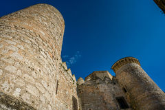 Belmonte Castle, La Mancha, Spain Stock Image
