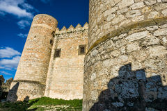 Belmonte Castle, La Mancha, Spain Royalty Free Stock Photography