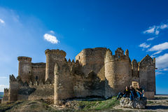 Belmonte Castle, La Mancha, Spain Royalty Free Stock Photo