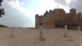 Belmonte castle stock video footage