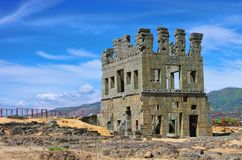 Belmonte Centum Celae. Belmonte in Portugal, a roman tower Royalty Free Stock Photo