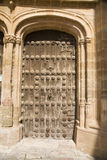 Belmonte church door Royalty Free Stock Photo