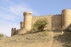 belmonte grodowa Cuenca quijote trasa s Fotografia Stock