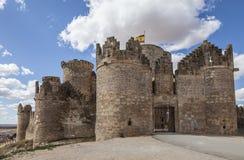 Belmonte slott, Spanien Fotografering för Bildbyråer