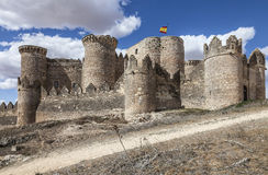 Belmonte slott, Spanien Royaltyfria Foton