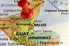 Belmopan capital of Belize. Copy space available Royalty Free Stock Photography