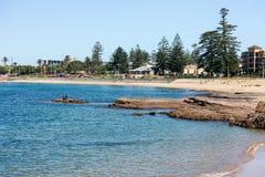 Belmore basen, Północny Wollongong, Australia Zdjęcia Stock
