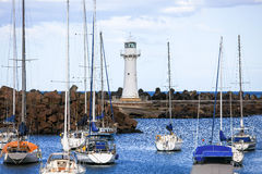 Belmore handfat, Wollongong hamn, Australien Royaltyfria Foton