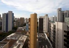 belo cityscapehorizonte Arkivbilder