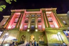 BELO HORIZONTE, BRÉSIL - 12, OCTOBRE 2017 : Vue de C culturel images libres de droits