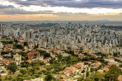 BELO HORIZONTE BRASILIEN Arkivfoton