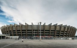 Mineirao Stadium in Belo Horizonte, Brazil stock photos