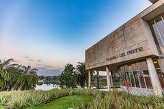 BELO HORIZONTE, BRAZYLIA - 14, PAŹDZIERNIK, 2017: Muzeum Sztuki, Minas Ge fotografia stock