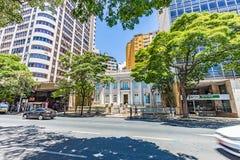 BELO HORIZONTE, BRAZYLIA - 13, PAŹDZIERNIK, 2017: Muzyczny konserwatorium o obraz royalty free